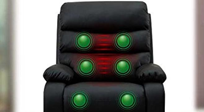 Sistema de calor del sillón