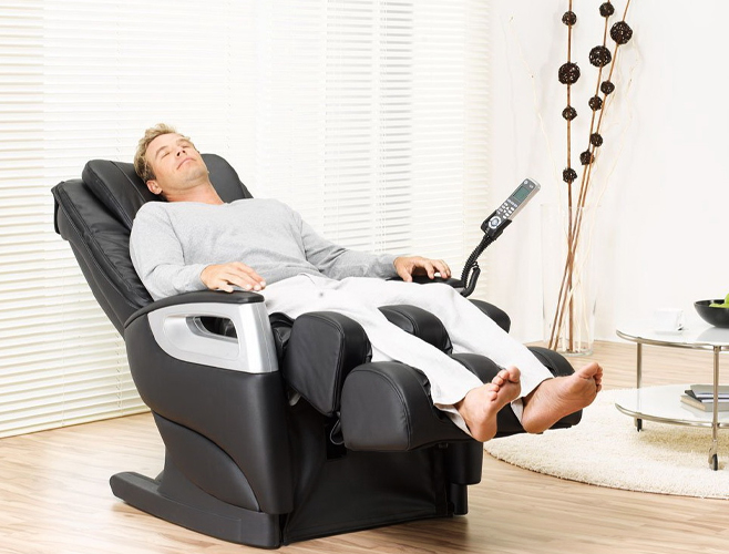 Comodidad del sillón masajeador