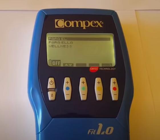 compex fit 1.0 hombres y mujeres
